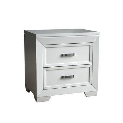 Ellington Circle 2 Drawer Nightstand