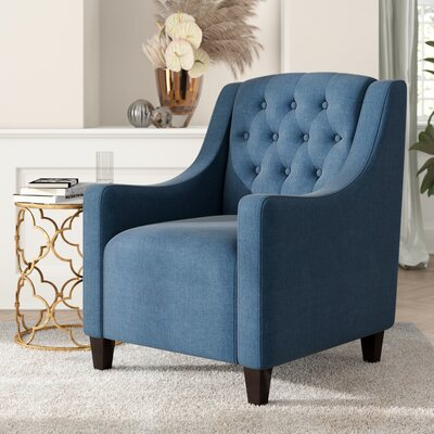 Decker Armchair Upholstery: Dark Blue
