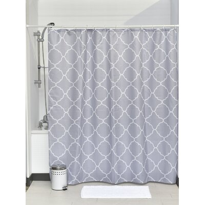 Carthage Printed Fabric Shower Curtain