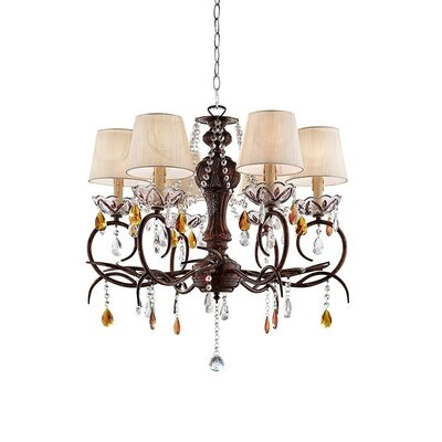 Rogge 6-Light Candle-Style Chandelier
