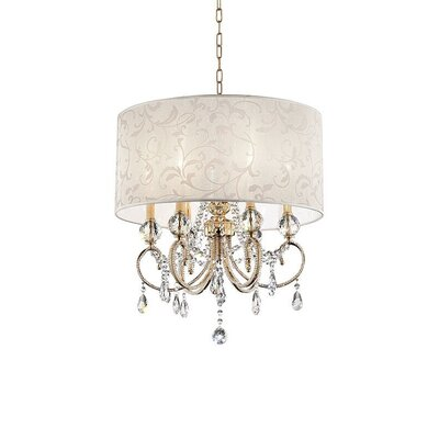 Queensway Barocco 6-Light Drum Chandelier