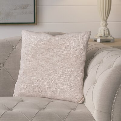 Mccarty Throw Pillow Color: Sandstone, Size: 20 x 20