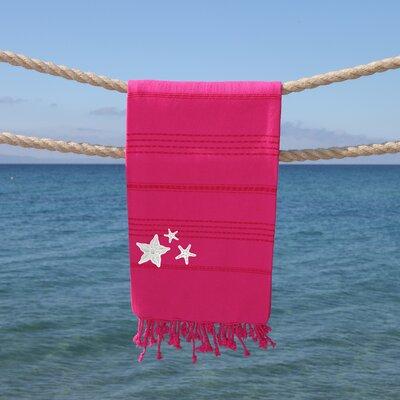 Sandspur Glittery Pestemal Beach Towel Color: Pretty Pink