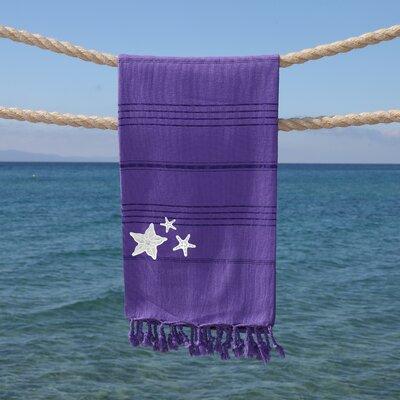 Sandspur Glittery Pestemal Beach Towel Color: Lilac