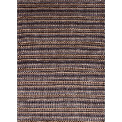 One-of-a-Kind Spurrier Hand-Woven Silk Violet Area Rug