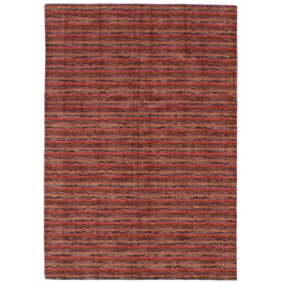 One-of-a-Kind Oldsmar Hand-Woven Wool Red Area Rug