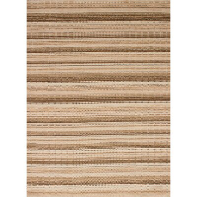 One-of-a-Kind Spurrier Hand-Woven Wool Beige Area Rug
