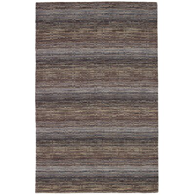 One-of-a-Kind Spurrier Hand-Woven Wool Khaki/Light Gray Area Rug