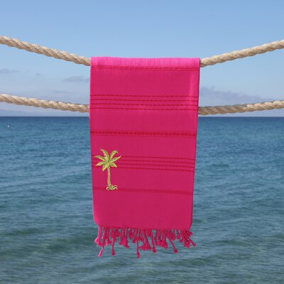 Sandspur Breezy Pestemal Beach Towel Color: Pretty Pink
