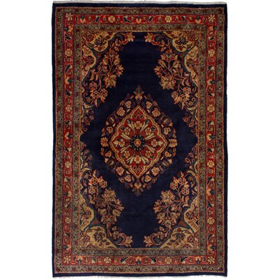 One-of-a-Kind Maiden Lane Hand-Woven Wool Dark Copper Area Rug