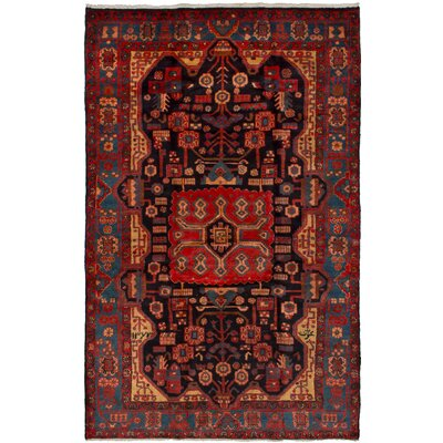 One-of-a-Kind Whitlatch Nahavand Hand-Woven Wool Dark Copper Area Rug