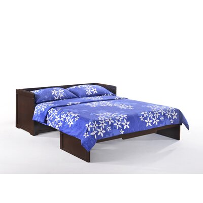 Mcmaster Queen Murphy Bed with Mattress Color: Chocolate
