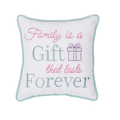 Neese Family is a Gift Cotton Throw Pillow