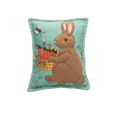 Hallinan Basket Rabbit Lumbar Pillow