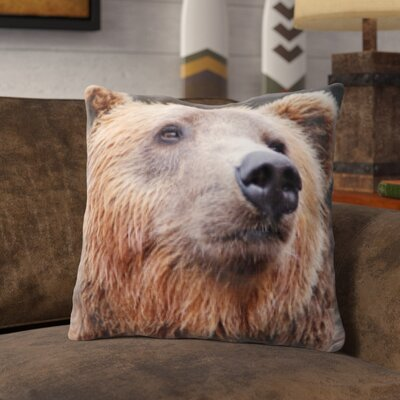 Pohlman Bear Throw Pillow