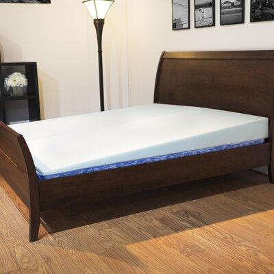 """Gerken 7"""" Polyester Mattress Topper Bed Size: Queen"""