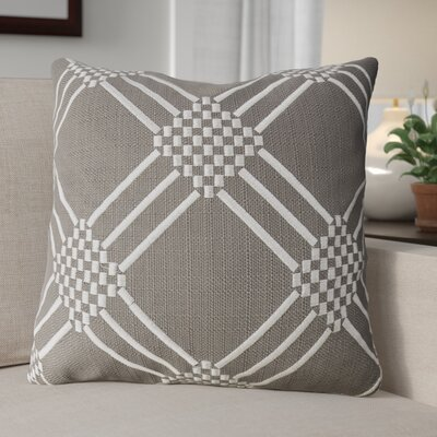 Dimas Indoor Throw Pillow Color: Gun Metal