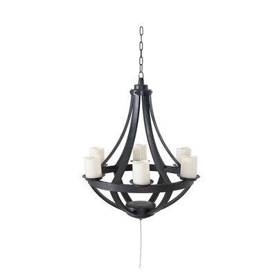 Patchway 6-Light Candle-Style Chandelier