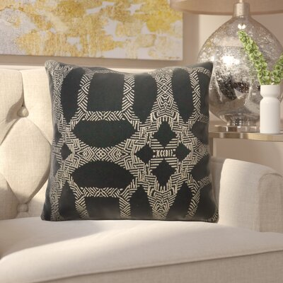 Haskin Indoor Throw Pillow Size: 18 H x 18 W