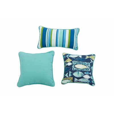 Huguley Hooked 3 Piece Pillow Set