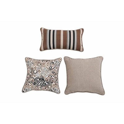 Patchett 3 Piece Pillow Set