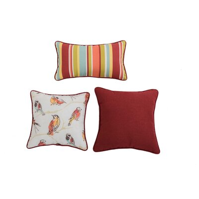 Halley 3 Piece Pillow Set