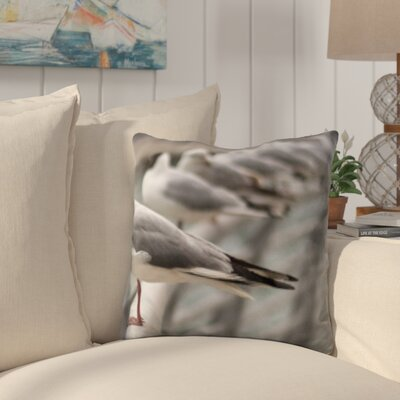 Cirillo Bird In a Line Throw Pillow