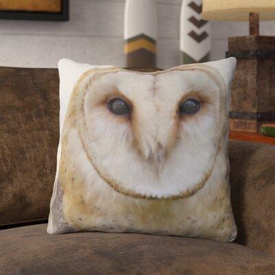 Poitra Owl Throw Pillow