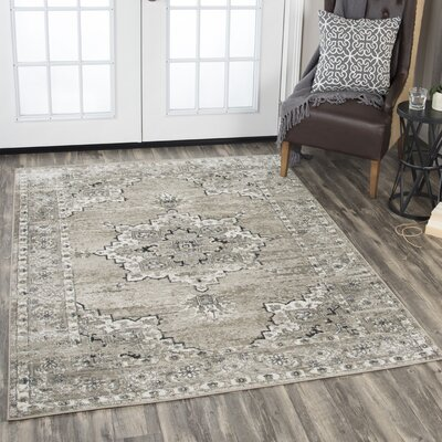Haigh Brown Area Rug Rug Size: Rectangle 8' x 10'