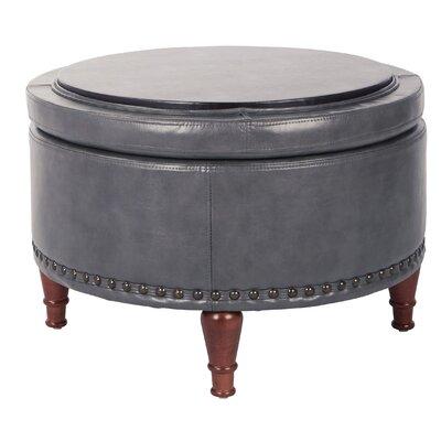 Hogsett Ottoman Upholstery: Pewter