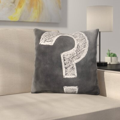 Kutz Formula Question Mark Throw Pillow