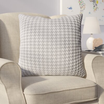 Eisen Indoor Throw Pillow Color: Gray