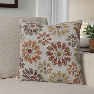 Lerwick Vintage Indoor Throw Pillow Size: 18 H x 18 W, Color: Orange