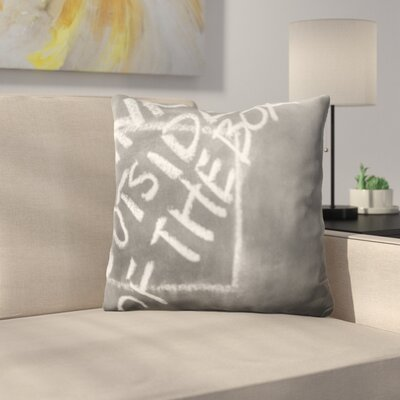 Kutz Formula Think Outside of The Box Throw Pillow
