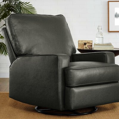 Rashida Gliding Manual Swivel Recliner