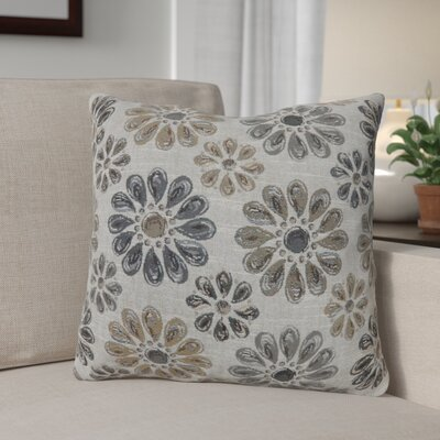 Lerwick Vintage Indoor Throw Pillow Size: 22 H x 22 W, Color: Gray