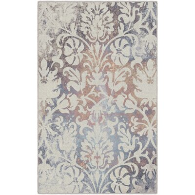 Messerly Antique Scroll Cream Area Rug Rug Size: Rectangle 5 x 8
