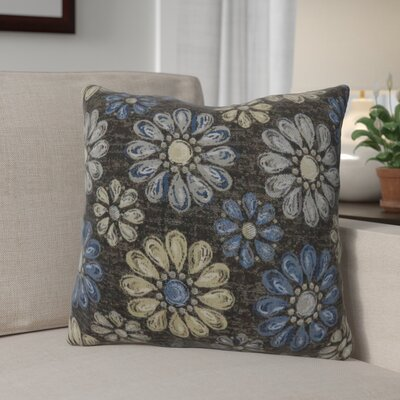 Lerwick Vintage Indoor Throw Pillow Size: 22 H x 22 W, Color: Blue