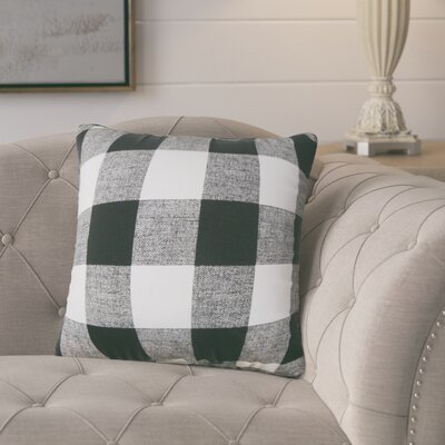 Eaddy Cotton Throw Pillow Size: 20 H x 20 W, Color: Black