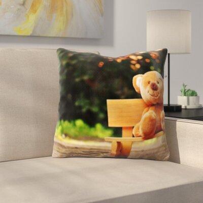 Behan Teddy Bear Throw Pillow