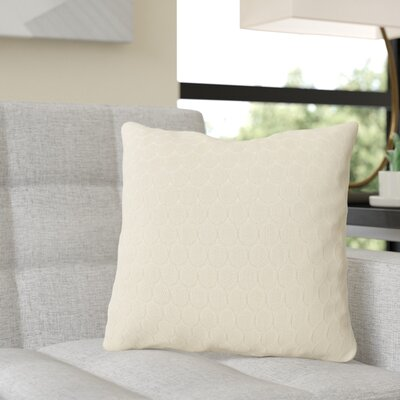Rolen Throw Pillow Color: Neutral Sand, Size: 20 x 20, Fill Material: Polyester