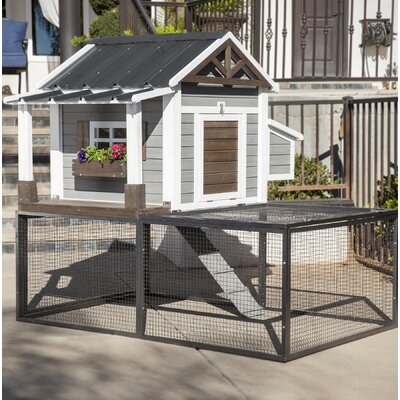 Ranch Pacific Coast Chicken Coop/House Color: Pacific Northwest