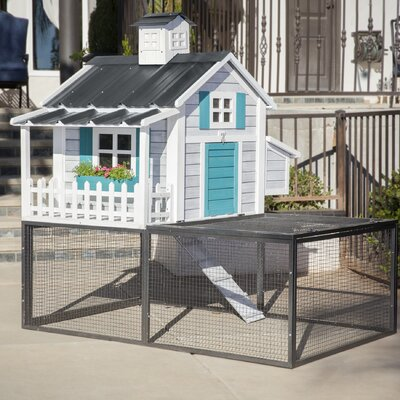 Ranch Pacific Coast Chicken Coop/House Color: Seaside
