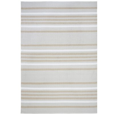 Hunnicutt Stripe Blue Indoor/Outdoor Area Rug Rug Size: Rectangle 75 x 95