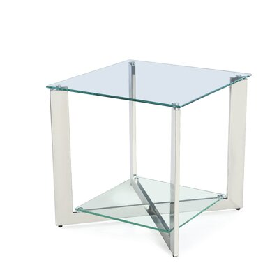 Stampley End Table with Storage
