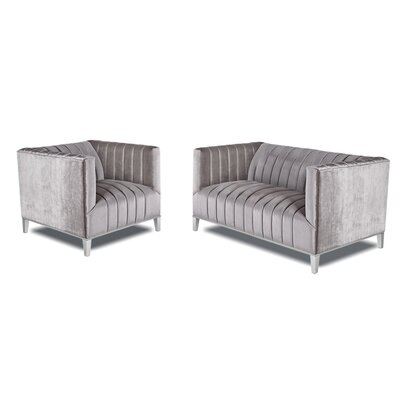 Herlihy 2 Piece Living Room Set