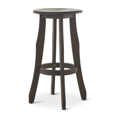 Wick, Somerset Indoor 30 Bar Stool Color: Dark Gray