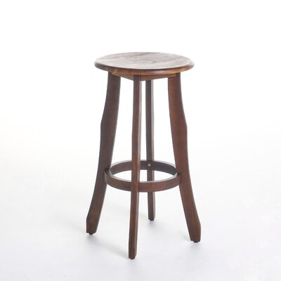 Wick, Somerset Indoor 30 Bar Stool Color: Dark Brown