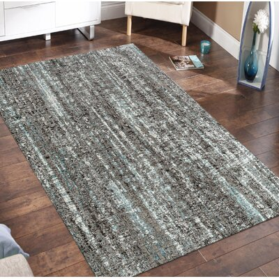 Despain Transitional Gray Area Rug