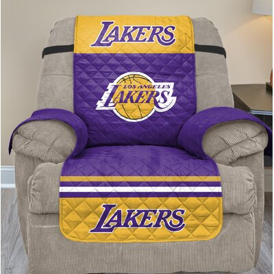 NBA Recliner Slipcover NBA Team: Los Angeles Lakers